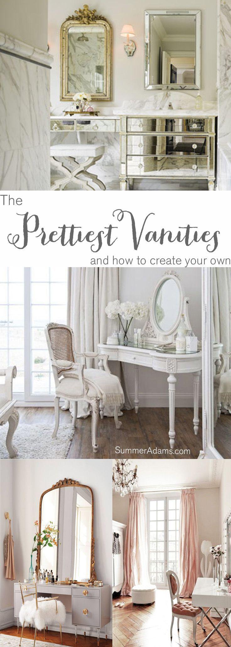 The prettiest vanities vanities inspiration and bathroom inspiration