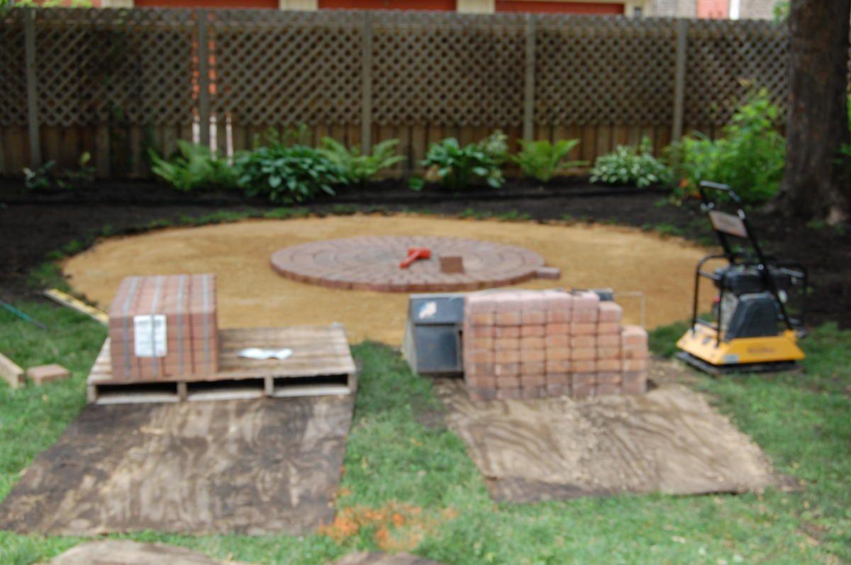 Estimate patio and paver construction costs patio