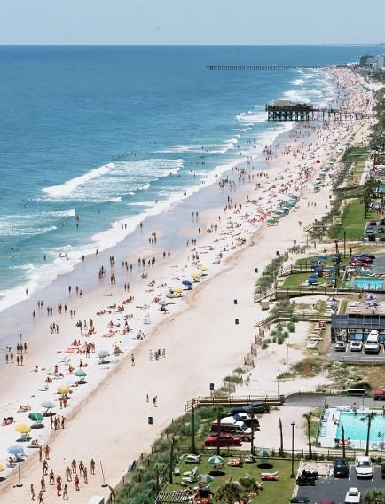 Myrtle Beach South Carolina May Not Feel Small If You Come During Spring Break Or