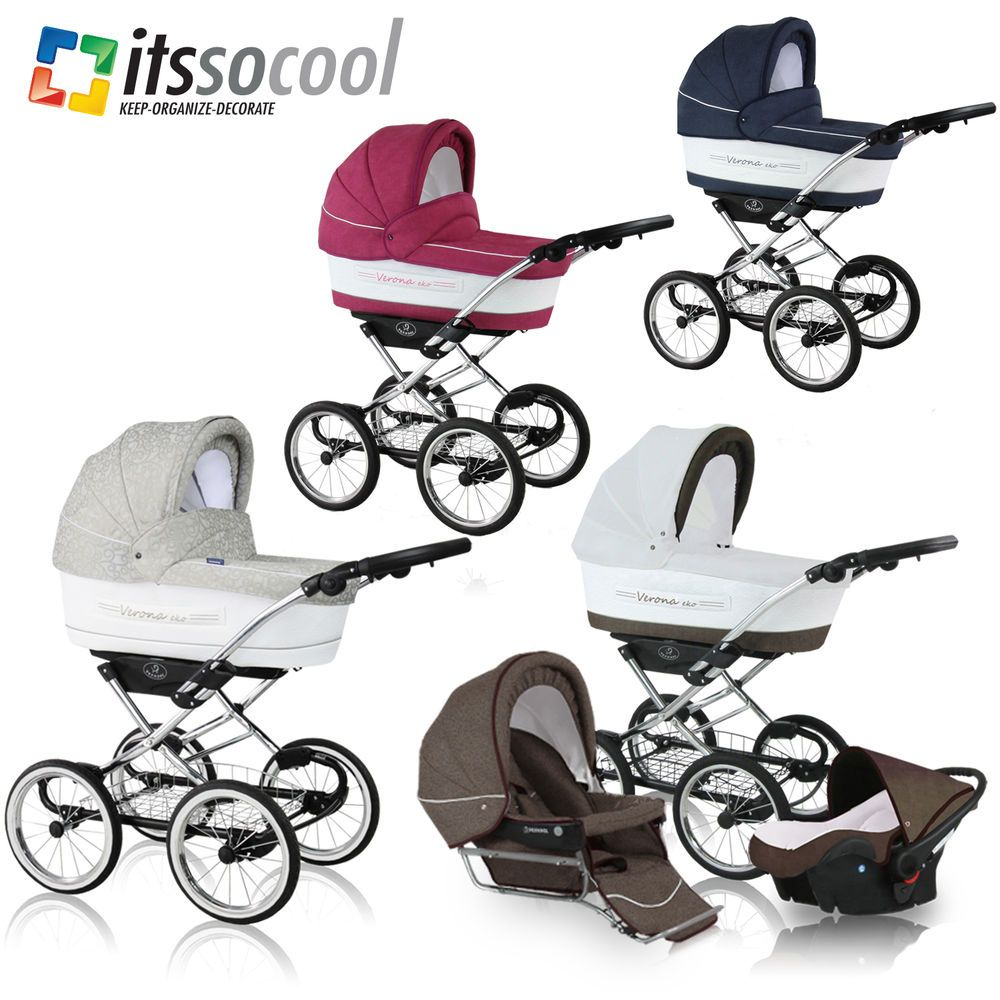 3in1 PRAM STROLLER CAR SAFETY SEAT WITH BAG MOSQUITO NET