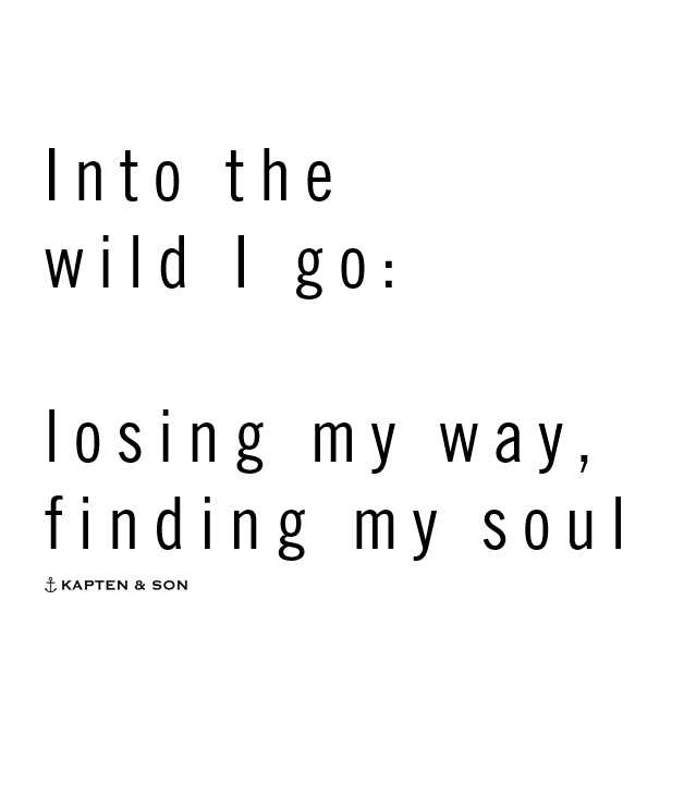 Soul Quotes New Into The Wild I Go Losing My Way Finding My Soul  Quote  Quote