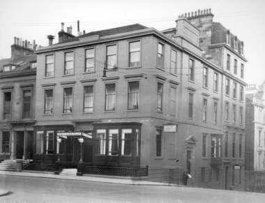 152 Bath St, 1930 Margaret Fleming Corbett and William McAndrew Milne married 1911 at Bath Hotel, Glasgow