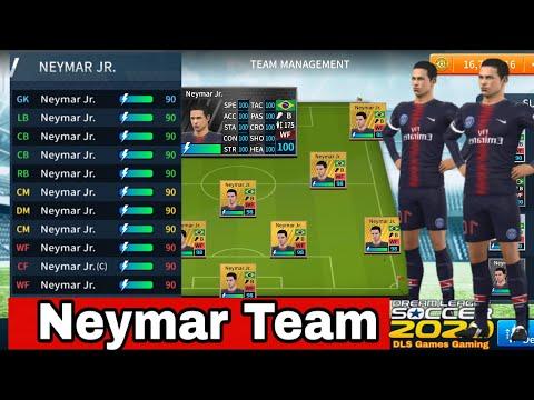 Dls 2020 Team With Neymar Players Get Neymar Team In Dream League Soccer Dls Games Gaming Youtube Neymar Youtube