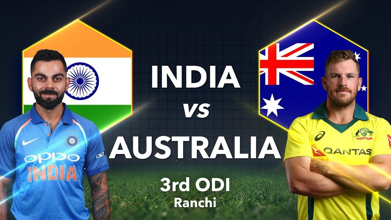 India Vs Australia 3rd Odi Live Streaming Ind Vs Aus Today Match Live Streaming Ptv Sports Live In 2020 Star Sports Live Cricket Live Cricket Star Sports Live