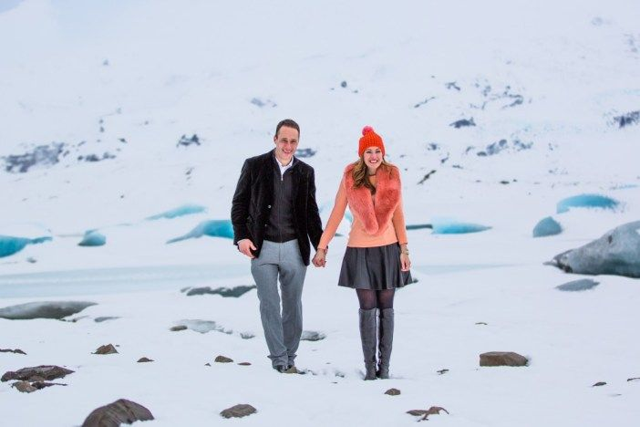 This proposal in Iceland is seriously gorgeous: