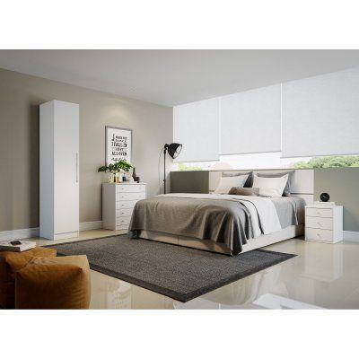 Manhattan Comfort Chelsea 1 Door Armoire - 2-116151118051