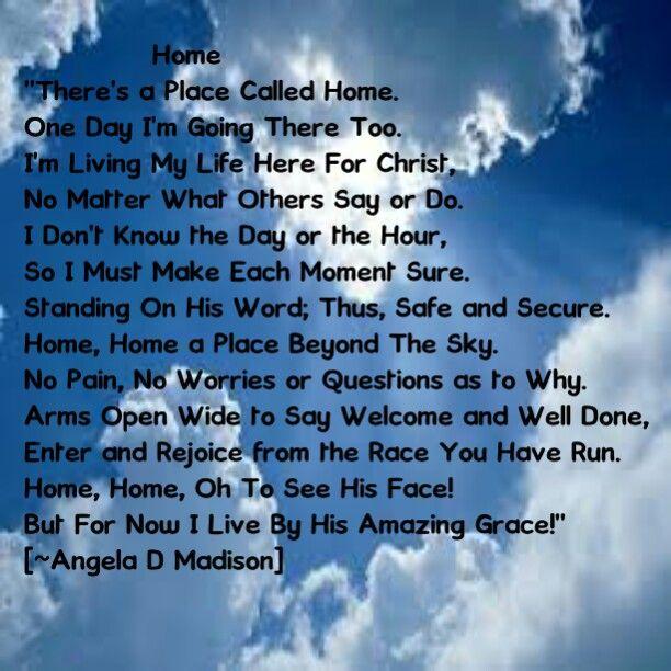 I Want to be Ready to go Home! #Jesus #GodHelpMe #Heaven #TrustInHim  #SeekHisFace