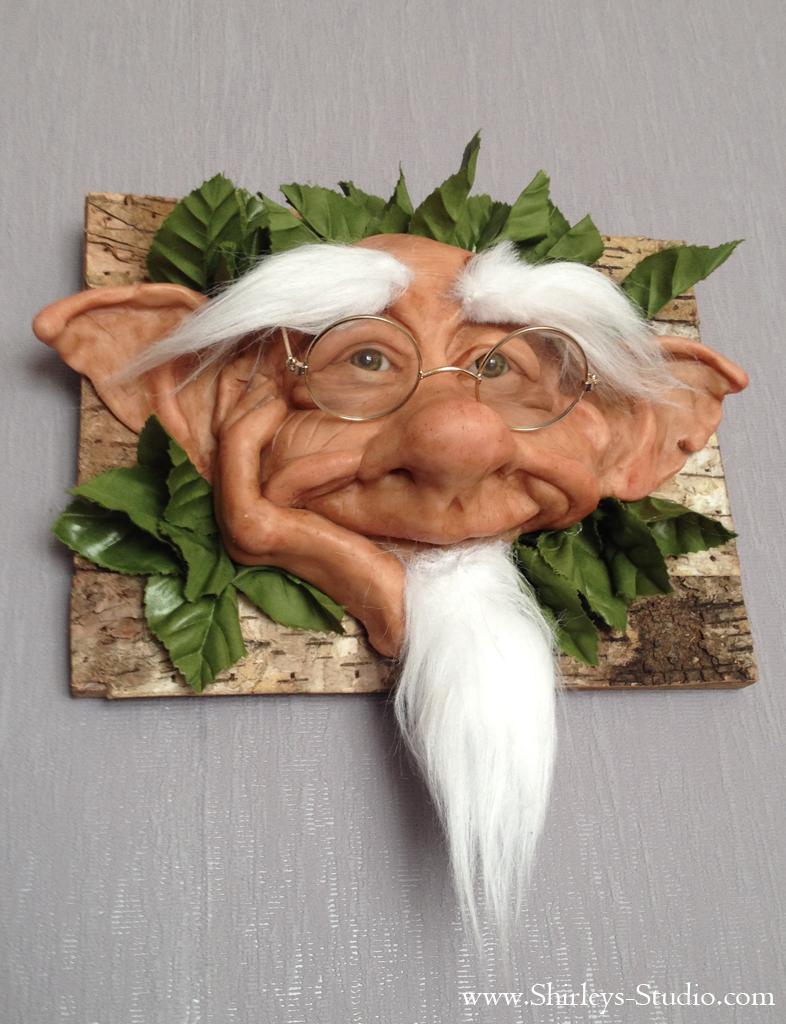 Wallhanger Troll by ShirleysStudio on DeviantArt