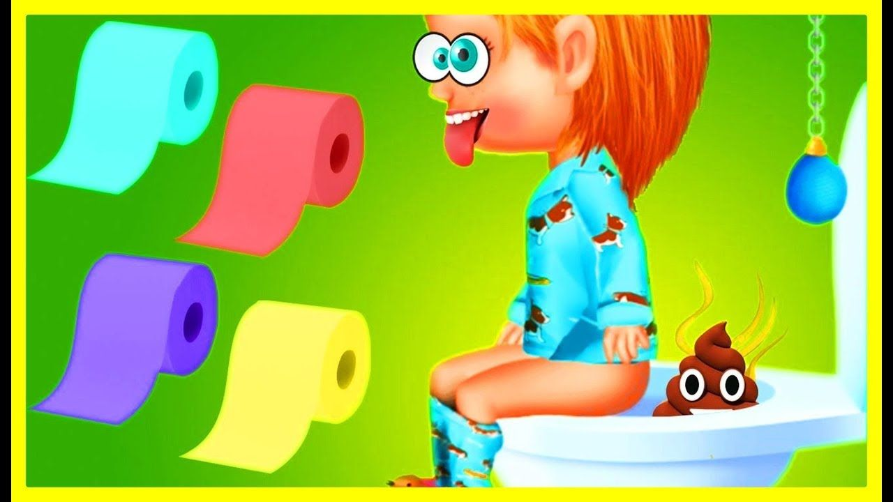 Play Baby Care Kids Game Back To School - Toilet Bath Time Dress Up ...