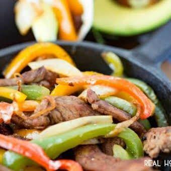 Beef Fajitas #bellpepperrecipes