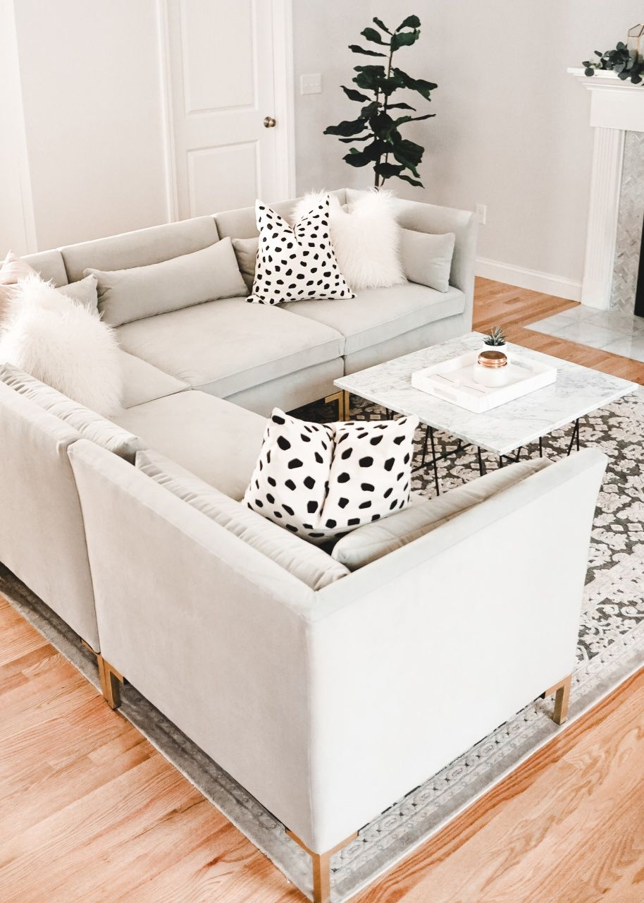 Raymour and Flanigan Living Room in 2020 Living room