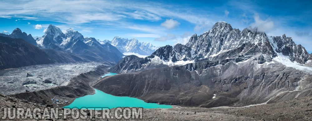 Jual Poster Gambar Pemandangan Alam Gunung Poster Mountains