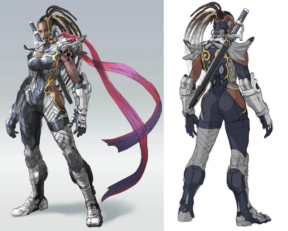Tekken 7 Concept Artwork Tekken 7 Concept Art Characters
