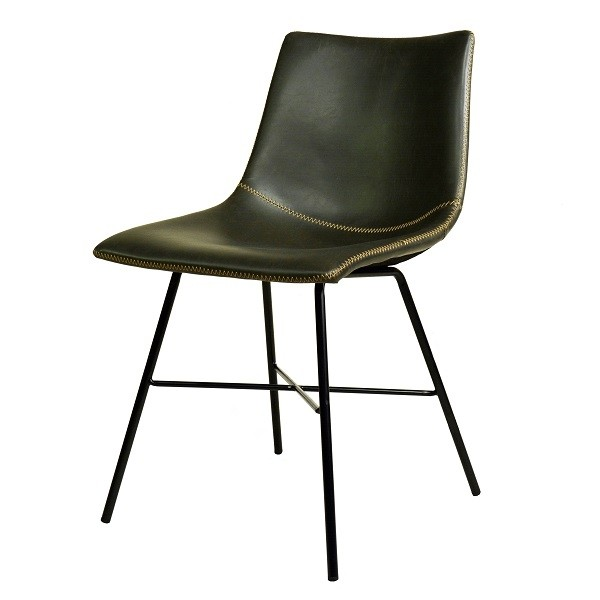 Polsterstuhl Urban Industrial Grey Edler Design Stuhl Edler Grau Ton Hoher Sitzkomfort Von Fabrikschick De Neuer D Vintage Stuhle Polsterstuhl Lederstuhle