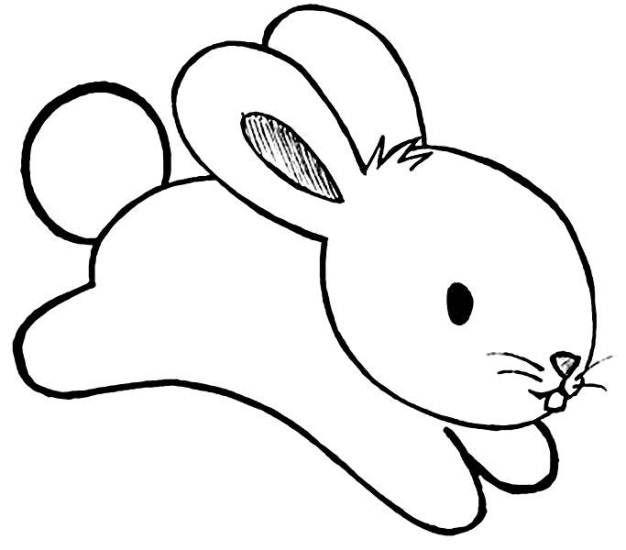 Desenhos E Figuras De Coelhinho Da Páscoa Para Colorir 25