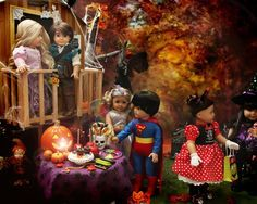Halloween party for the American Girl dolls
