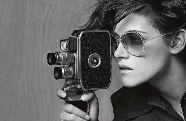 克莉絲汀史都華(Kristen Stewart)代言香奈兒春夏眼鏡