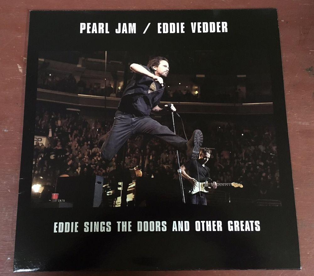 Eddie Vedder Sings The Doors And Other Greats Vinyl Lp Import New Pearl Jam Eddie Vedder Pearl Jam Singing