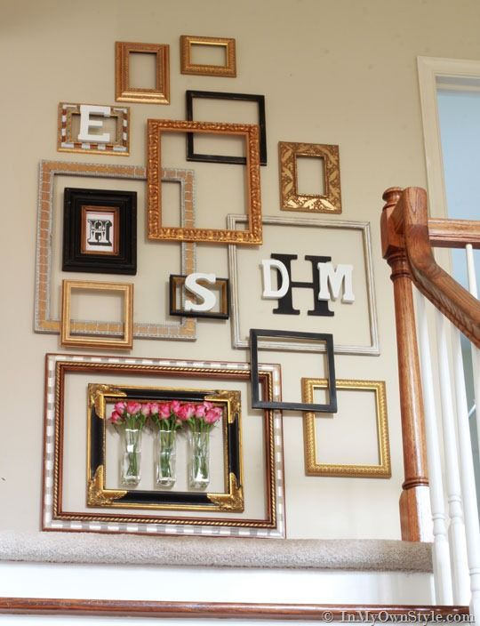 How To Create An Empty Picture Frame Gallery Wall In My Own