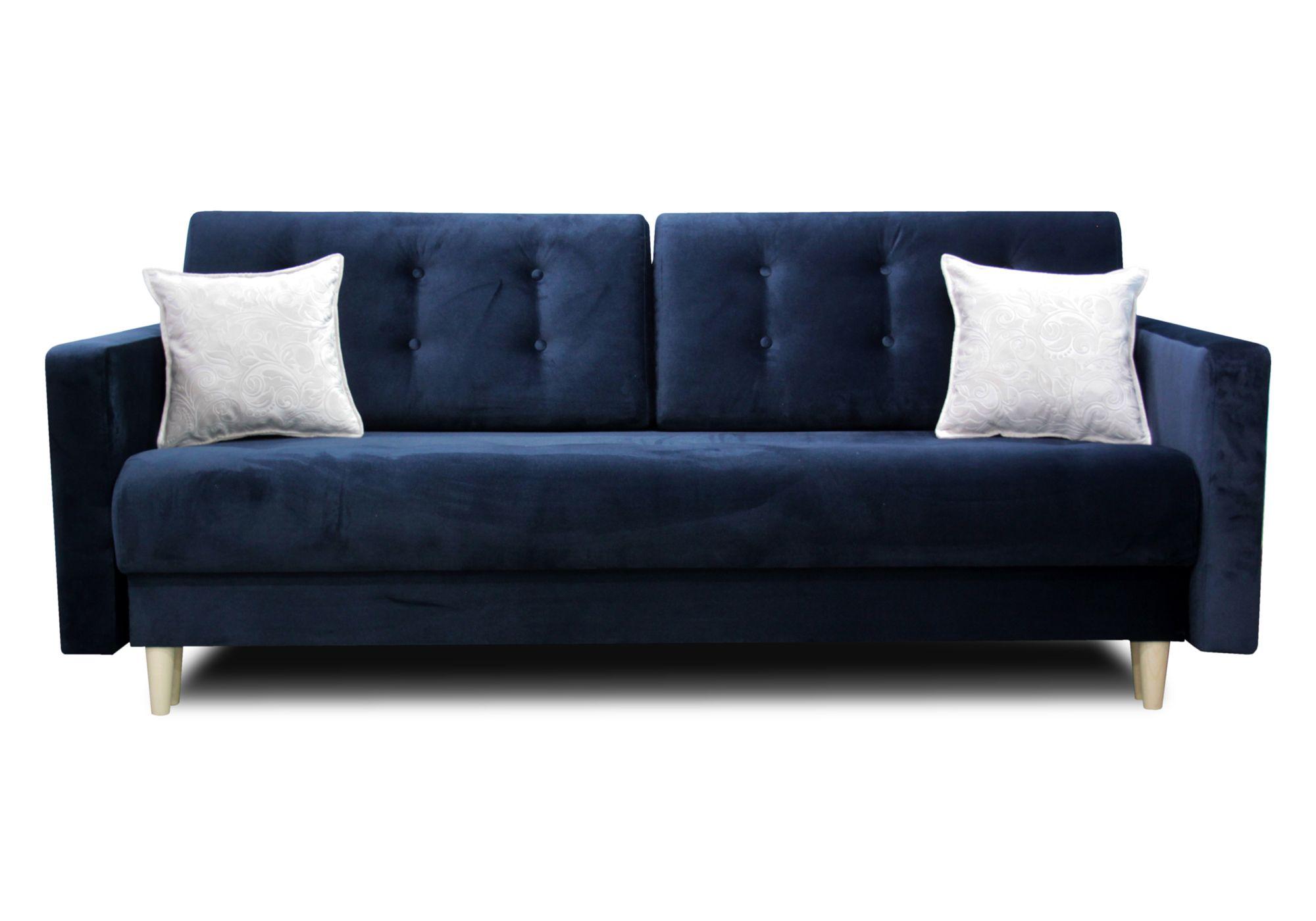 Granatowa Skandynawska Sofa Kanapa Rozkladana Oslo 7342256639 Oficjalne Archiwum Allegro Sofa Furniture Home Decor