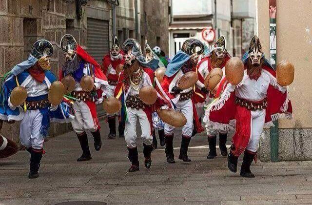 Pantallas, carnival, carnaval, entroido de Xinzo de Limia