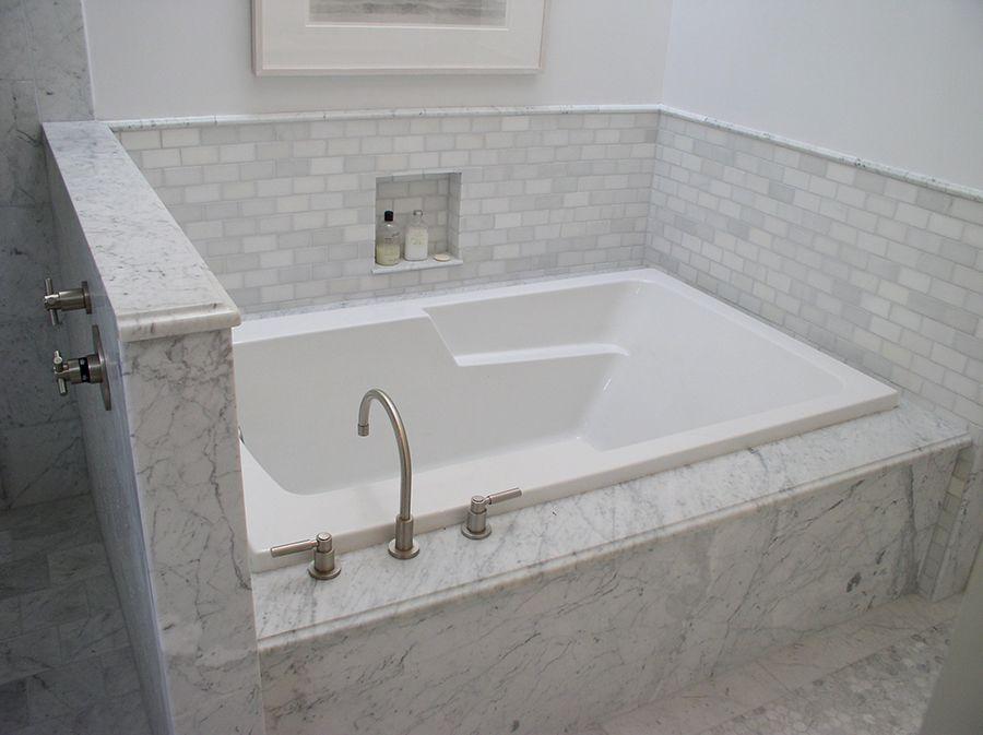 marble tile bathtubs - Google Search   Bathrooms   Pinterest ...