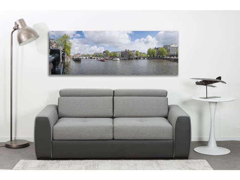 canapé convertible 3 places drakko   conforama   sofa, couch et
