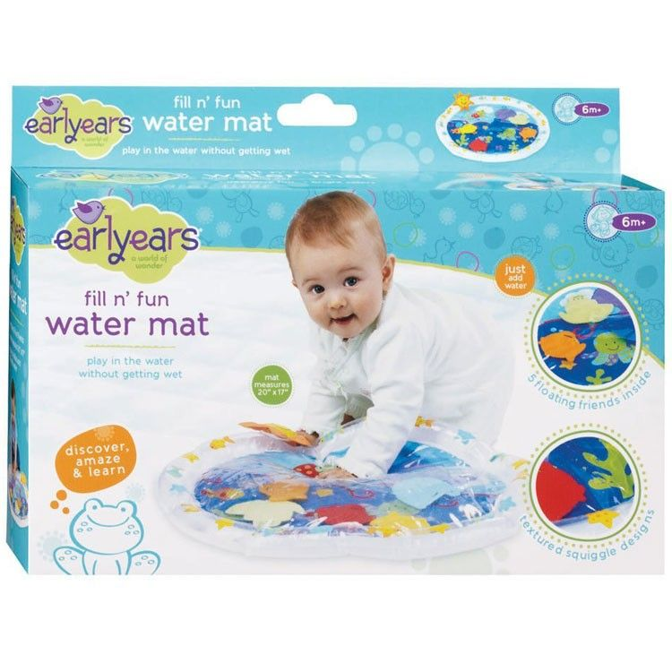 D J And Our 2 Missee Ma Ams Diy Water Mat Baby Toys Diy Diy Baby Stuff Water Mat