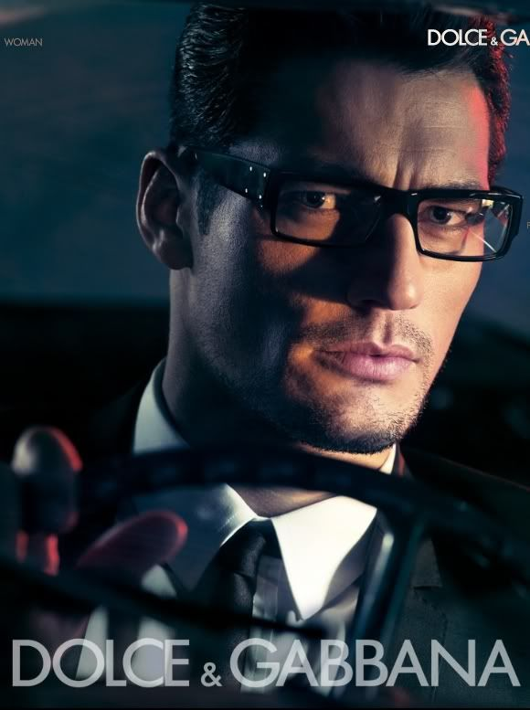 David Gandy D&G eyewear