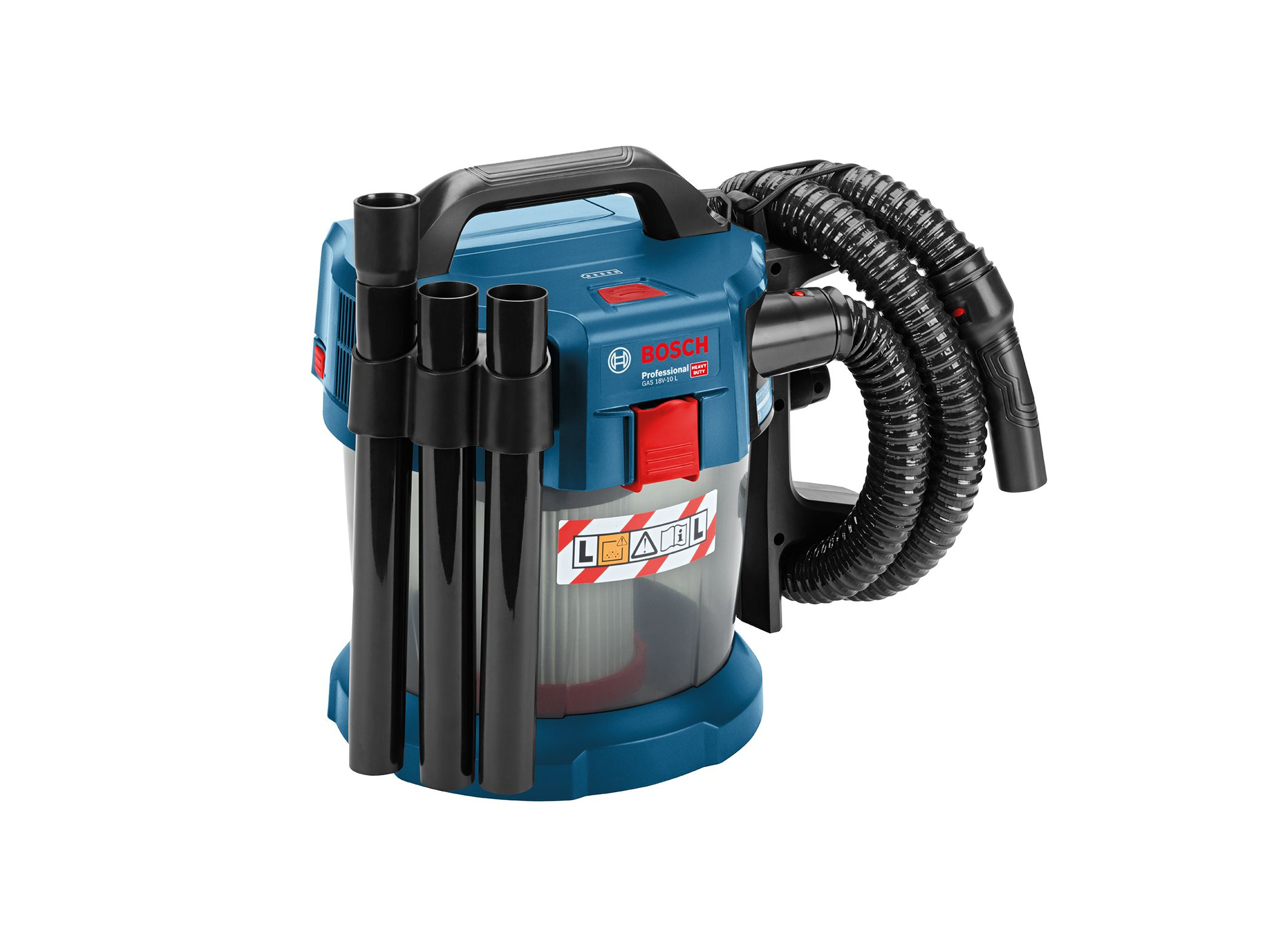 Great Whirl Little Dust Thanks To Rotational Air Flow The Gas 18v 10 L Professional Wet Dry Extractor From Bosch For Professio Bosch Vacuums Cordless Vacuum