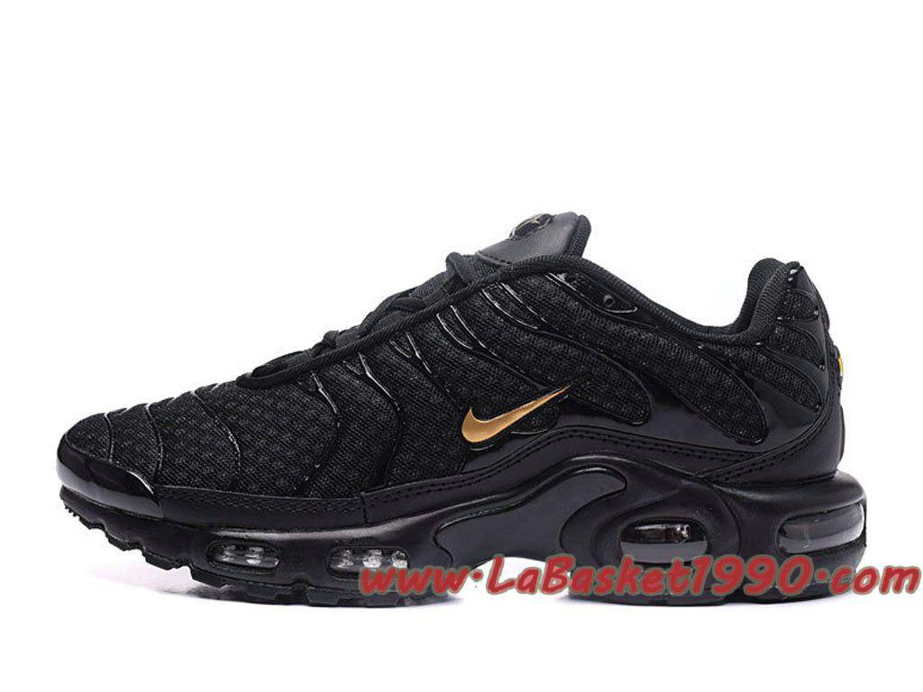 wholesale dealer 05a37 67514 Or Max Requin Air Pour Chaussures Cher Pas Tn Plus Homme Noires Nike APwYH