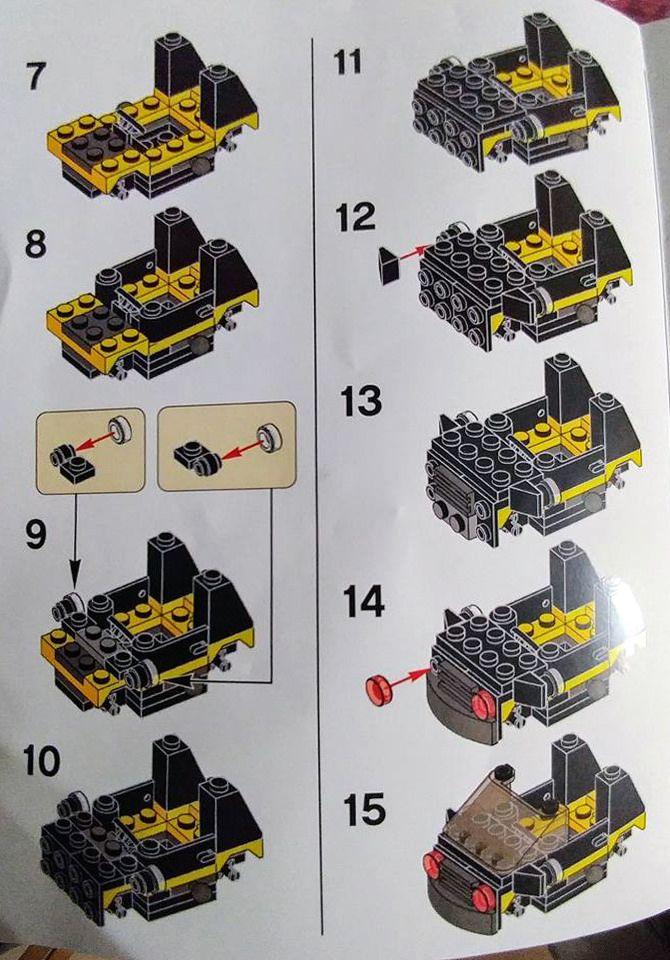 Lego Batman Movie Mini Batmobile Lego Creations In 2018