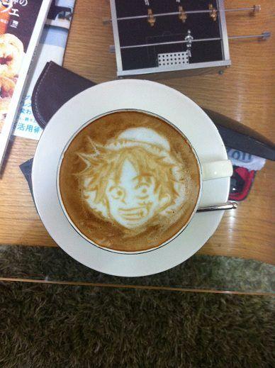 gomu gomu no coffe!