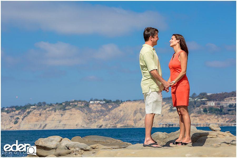 San Diego Beach Wedding Proposal At La Jolla Cove Photography By