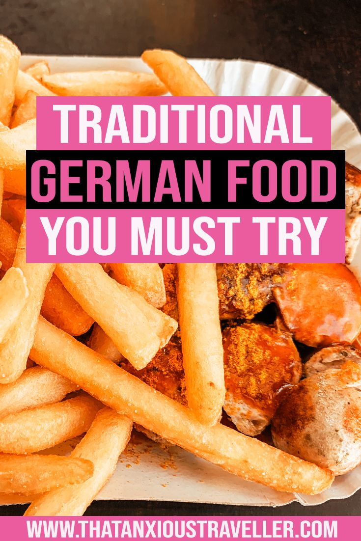 The Best Traditional German Food