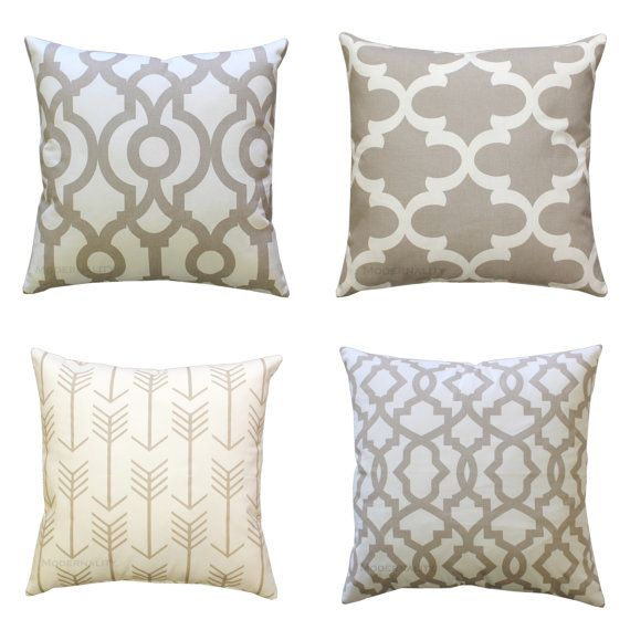 This Beige Decorative Pillow Is A Neutral Accent That Will Go With