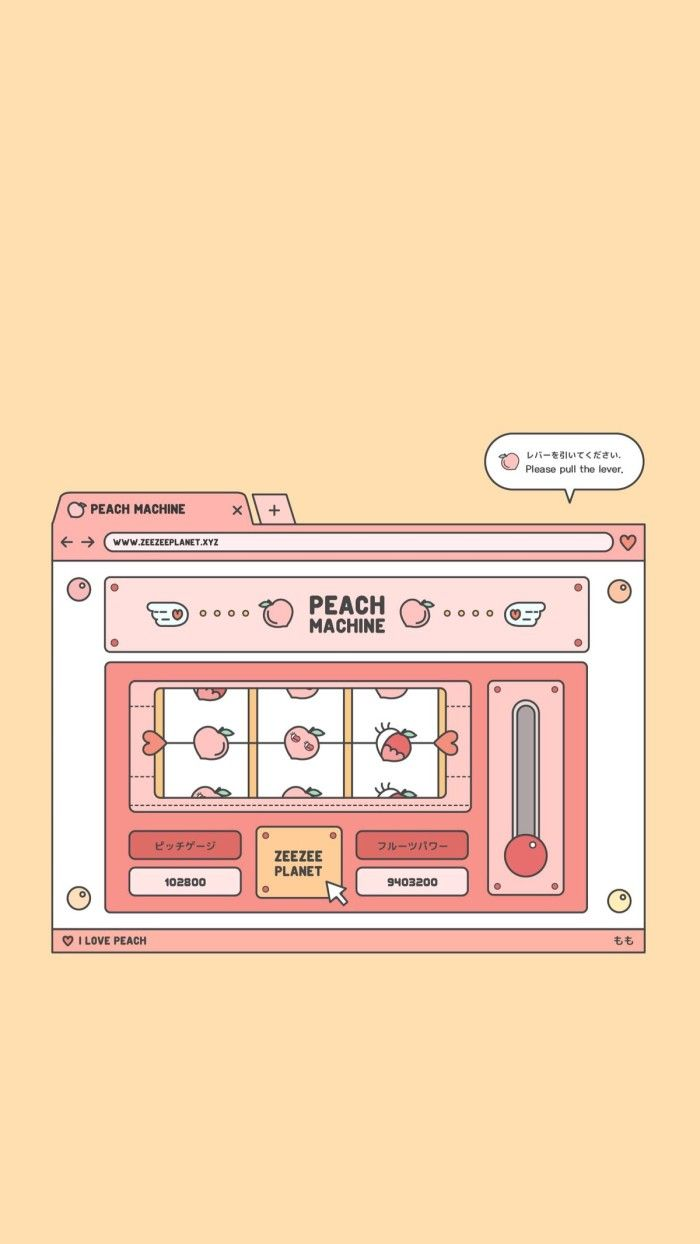 ⚘Lᵒᵛᵉᵧₒᵤ Peach wallpaper, Kawaii wallpaper, Peach aesthetic
