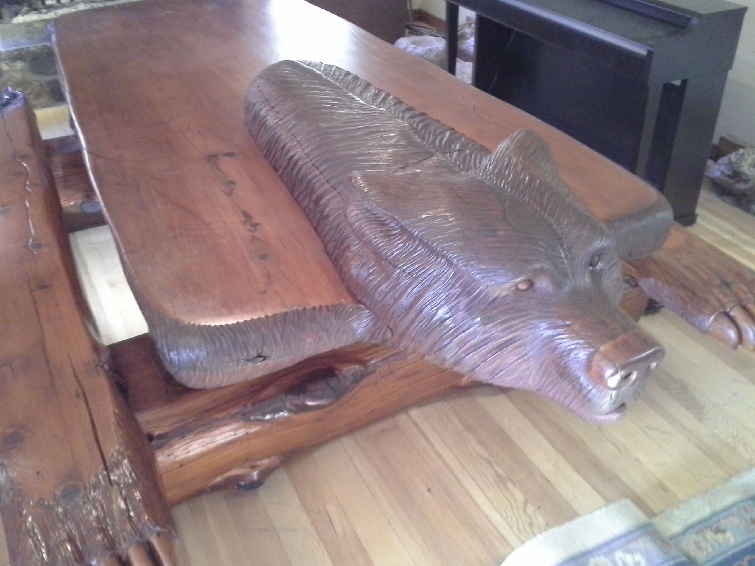 Table by Don Madison, Julian, Ca. $25,000.00