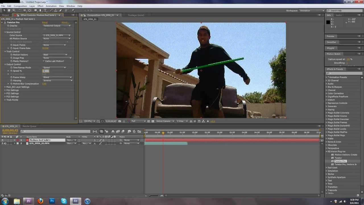 Communication on this topic: How to Use Twixtor in After Effects , how-to-use-twixtor-in-after-effects/