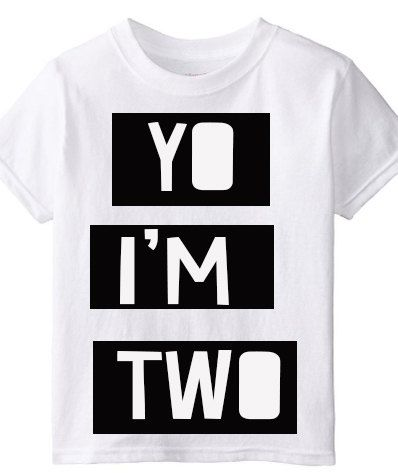 YO I'M TWO by LittleSuperPowers on Etsy