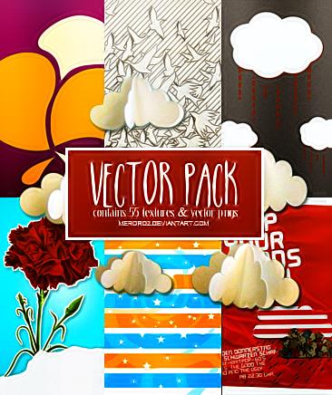 Vector Pack [request By -honeydrops] by meroro2.deviantart.com on @DeviantArt