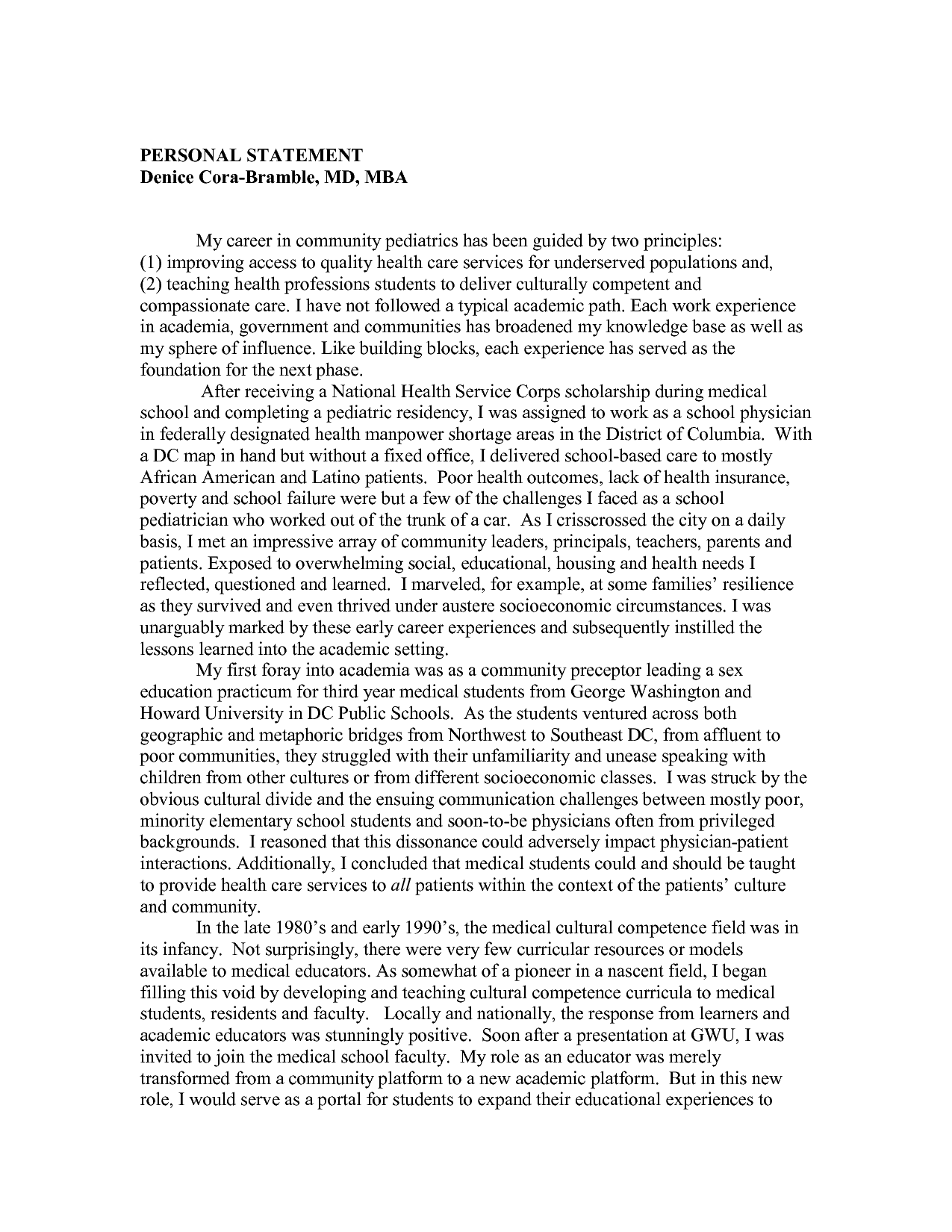 Physical Therapy Application Essay Examples Adopted By APTAs House Of Delegates In 2013 Vision Statement The