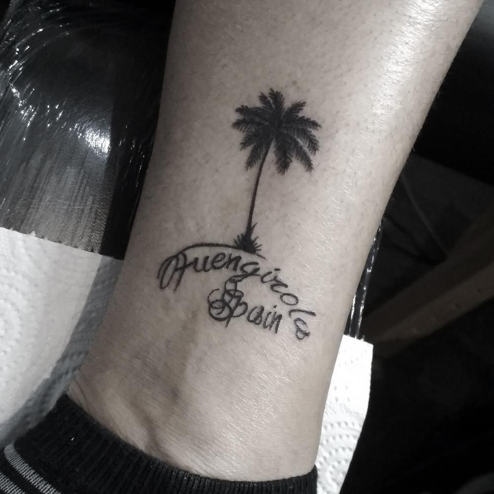 These forms of text are found in Egypt, India, ancient China, and Mesoamerica where tattooing was also considered an ancient art! #OleksandrChyhidin #TattooAwards #TattooIdeas #BlackTattoos #LetteringTattoos #HandWritingTattoos