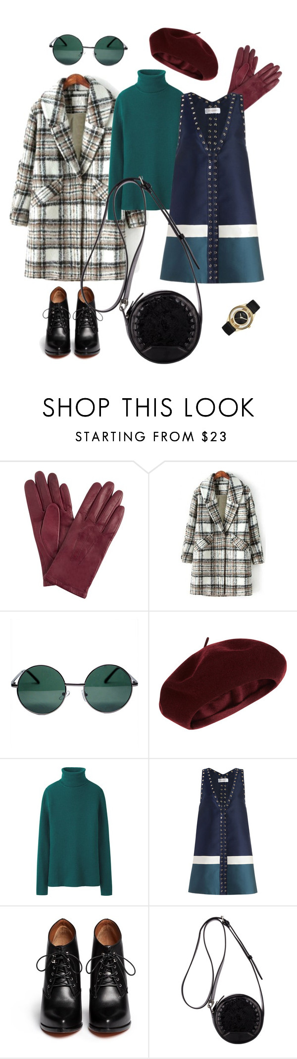 """beret, 60-е"" by enre on Polyvore featuring мода, John Lewis, YHF, Accessorize, Uniqlo, Zimmermann, Givenchy, 3.1 Phillip Lim и Marc by Marc Jacobs"