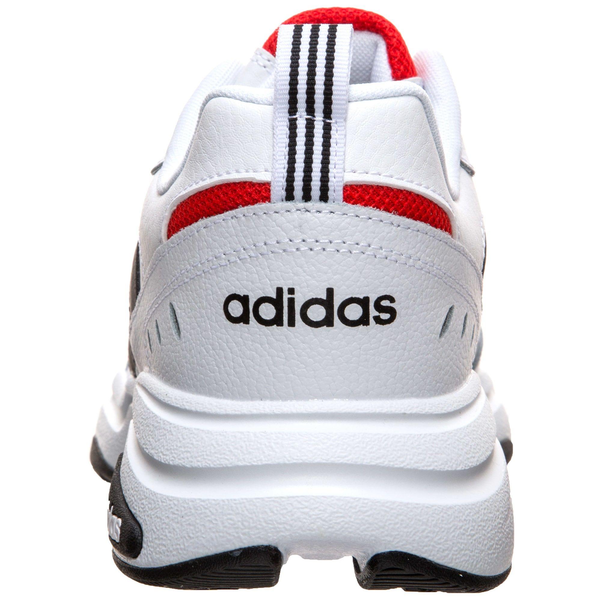Adidas Performance Sneaker Strutter Herren Weiss Schwarz Rot Grosse 47 1 2 Sneaker Adidas