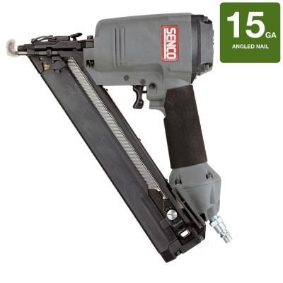 Senco Sfn30 15 Gauge Finish Nailer 620002n At The Home Depot Finish Nailer Nailer Home Depot