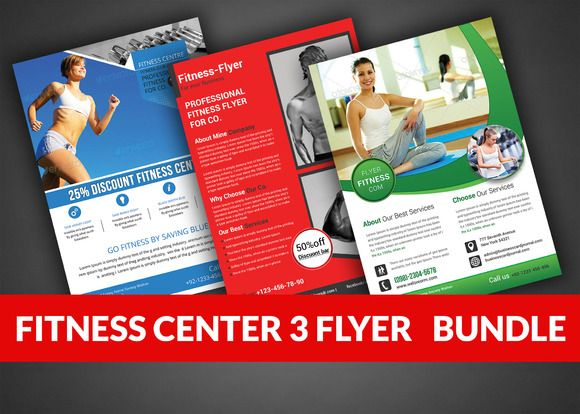 Health Sports Fitness Flyer Bundle By Afzaalgraphics On Creative