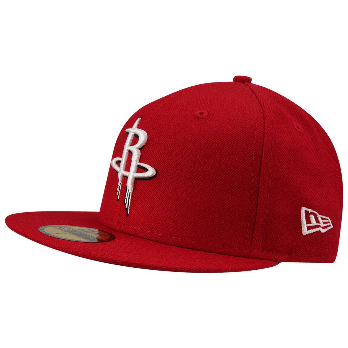 b76ba397cc645 Boné New Era NBA 5950 Houston Rockets