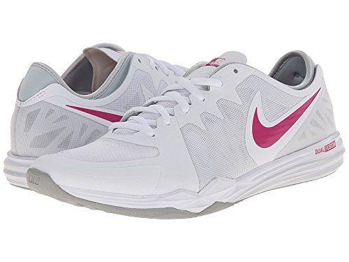 Womens Shoes Nike Dual Fusion TR 3 White/Pure Platinum/Wolf Grey/Vivid Pink