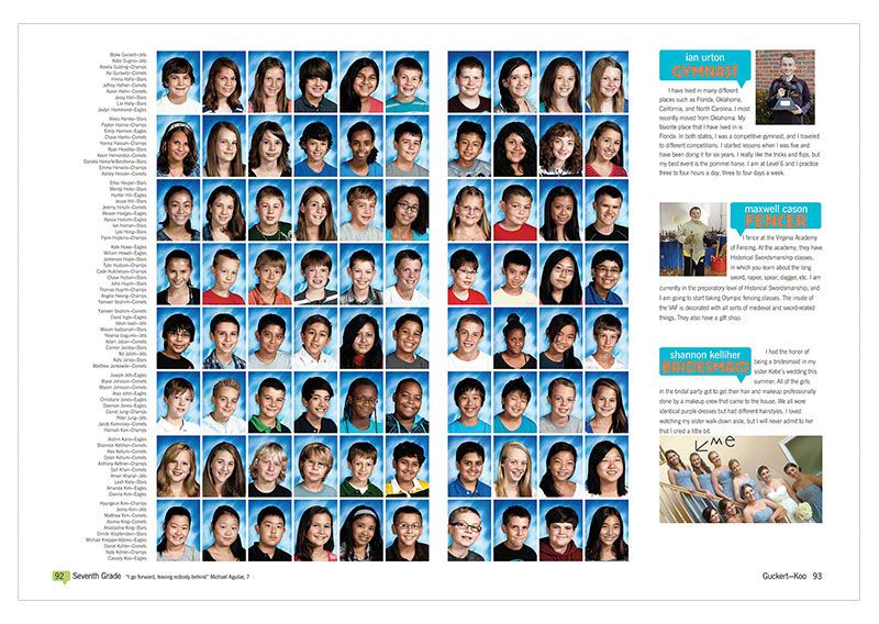 126 best Yearbook Mugshot Spreads images on Pinterest ...  |Find Middle School Yearbooks
